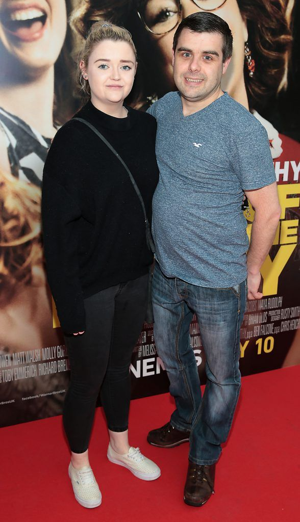 Carla Burke and John Rafferty at the special preview screening of Life of the Party at Omniplex Cinema in Rathmines, Dublin. Picture by Brian McEvoy