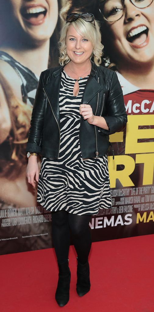 Rebecca Brady at the special preview screening of Life of the Party at Omniplex Cinema in Rathmines, Dublin. Picture by Brian McEvoy