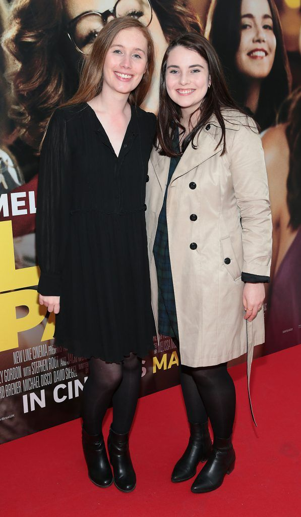 Elisabeth O Higgins and Grace Tierney at the special preview screening of Life of the Party at Omniplex Cinema in Rathmines, Dublin. Picture by Brian McEvoy