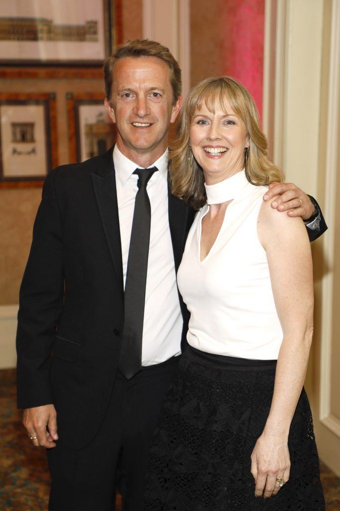 Andrew and Claire Paul at the third annual LauraLynn Heroes Ball at Dublin's InterContinental Hotel, May 12th 2018. Photo: Kieran Harnett
