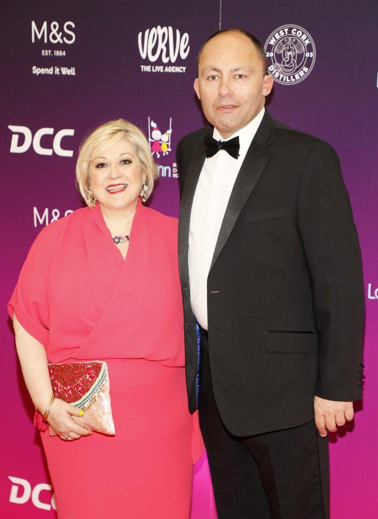 Carmel Breheny and Henry Wolverson at the third annual LauraLynn Heroes Ball at Dublin's InterContinental Hotel, May 12th 2018. Photo: Kieran Harnett