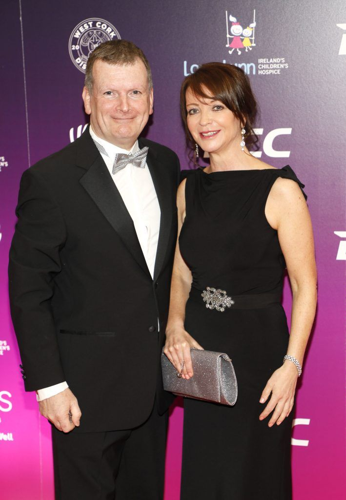 Niall McHugh and Maria Burke at the third annual LauraLynn Heroes Ball at Dublin's InterContinental Hotel, May 12th 2018. Photo: Kieran Harnett