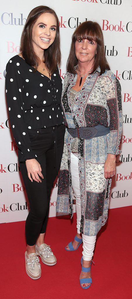 Rebecca Branagan and Catherine Branagan  pictured at the special preview screening of Book Club in Movies at Dundrum, Dublin. Photo by Brian McEvoy