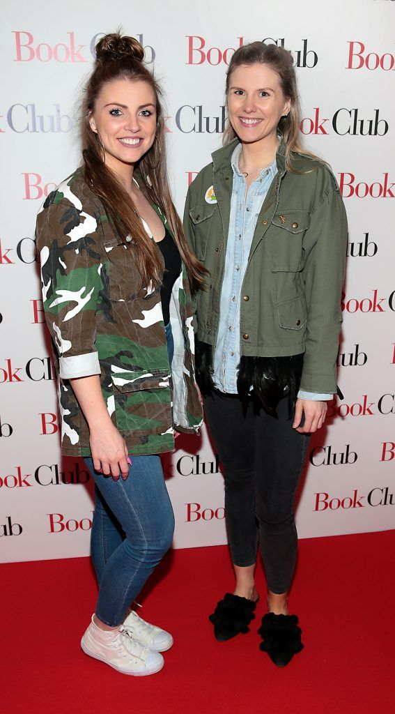 Leah Jordan and Katie Rochford pictured at the special preview screening of Book Club in Movies at Dundrum, Dublin. Photo by Brian McEvoy