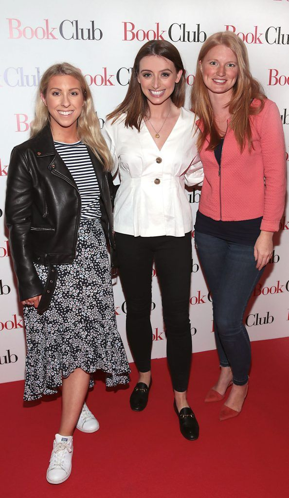 Maria Clabby, Corinne Vaughan and Siobhan Gowran pictured at the special preview screening of Book Club in Movies at Dundrum, Dublin. Photo by Brian McEvoy