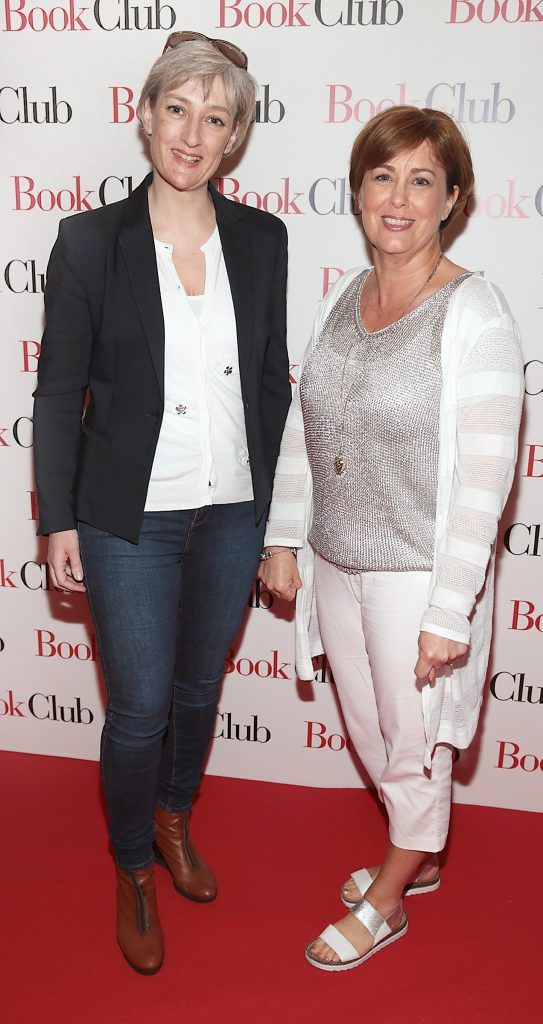 Deborah Long and Brid Mulligan pictured at the special preview screening of Book Club in Movies at Dundrum, Dublin. Photo by Brian McEvoy