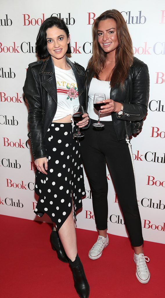 Roisin Lawless and Lisa Nolan pictured at the special preview screening of Book Club in Movies at Dundrum, Dublin. Photo by Brian McEvoy