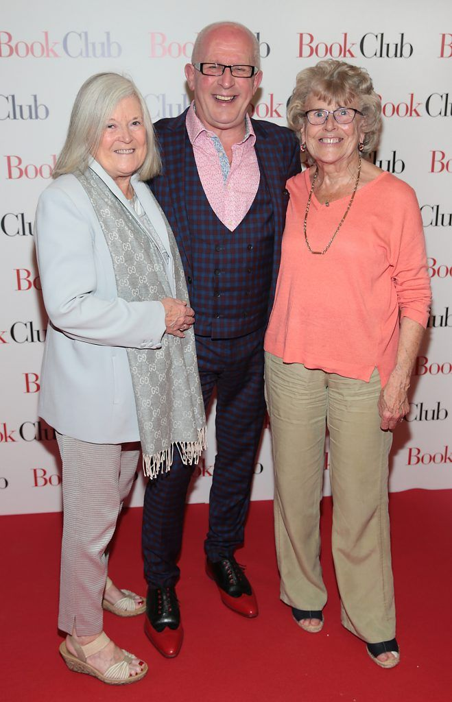 Maureen Burk ,Graham Spurling and Pat Kearns pictured at the special preview screening of Book Club in Movies at Dundrum, Dublin. Photo by Brian McEvoy