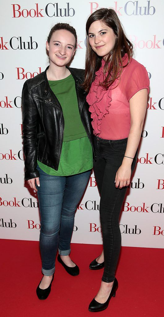 Deborah Berger and Alicia Bronnon pictured at the special preview screening of Book Club in Movies at Dundrum, Dublin. Photo by Brian McEvoy
