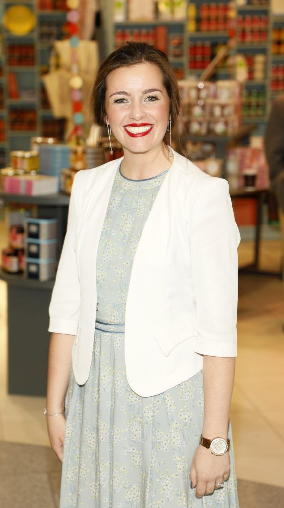 Michelle Carton at the official opening of AVOCA in Terminal 2 at Dublin Airport. Photo Kieran Harnett
