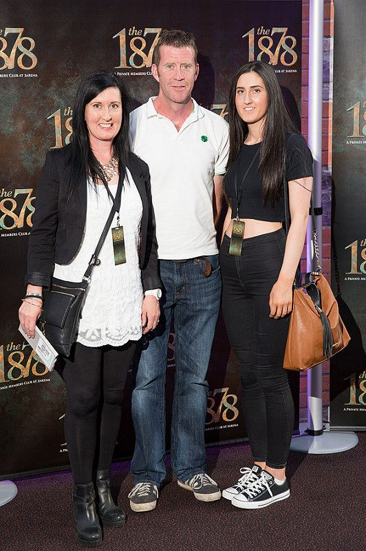 Picture shows from left Aisling Kiely; Joey Walsh ; Ciara Kiely  celebrating the renaming of the Private Members' Club at 3Arena, the 1878 (formerly Audi Club).The launch of the 1878 took place on Saturday June 21st when Fleetwood Mac took to the main stage at the 3Arena and played to a sold out audience.Pic:Naoise Culhane-no fee The new name, the 1878, refers to the year the original building housing 3Arena was built, previously used as a rail terminus for the Midland and Great Western Railway Company. Respect for history is important and the new name encompasses the timeless qualities of luxury, style and elegance that 3Arena Private Members' Clubs pride themselves on, the qualities Members expect from their Club experience. With a nod to the building's past as a point of departure and a reference to the journey through history it has made, the 1878 continues to provide the backdrop to journeys – now the musical and inspirational journeys created by the world-class acts, performers and musicians welcomed to 3Arena, which The 1878 members enjoy in uniquely luxurious fashion. Pic:Naoise Culhane-no fee