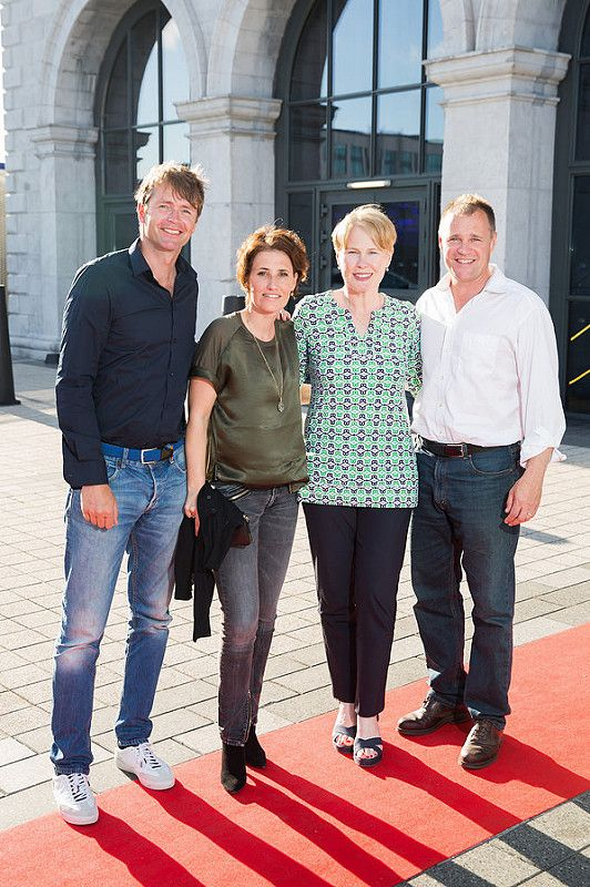 Picture shows from left Mathijs Rotteveel; Ingrid van der Vorst; Maggie Timoney; Glenn Patrick  celebrating the renaming of the Private Members' Club at 3Arena, the 1878 (formerly Audi Club).The launch of the 1878 took place on Saturday June 21st when Fleetwood Mac took to the main stage at the 3Arena and played to a sold out audience.Pic:Naoise Culhane-no fee The new name, the 1878, refers to the year the original building housing 3Arena was built, previously used as a rail terminus for the Midland and Great Western Railway Company. Respect for history is important and the new name encompasses the timeless qualities of luxury, style and elegance that 3Arena Private Members' Clubs pride themselves on, the qualities Members expect from their Club experience. With a nod to the building's past as a point of departure and a reference to the journey through history it has made, the 1878 continues to provide the backdrop to journeys – now the musical and inspirational journeys created by the world-class acts, performers and musicians welcomed to 3Arena, which The 1878 members enjoy in uniquely luxurious fashion. Pic:Naoise Culhane-no fee