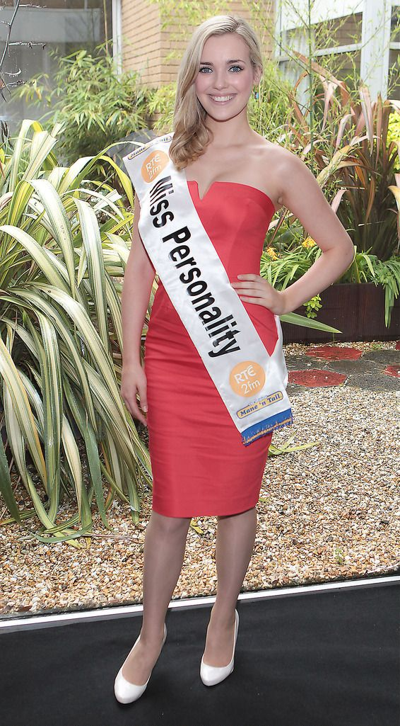 The Final Countdown for Miss Ireland 2014 has officially begun!!..2fm's Miss Personality- Laura Mc Cormack: 19 year old Laura is from Edenderry, Co Offaly and is Ireland's first ever entrant who was voted as a finalist based purely on personality. Laura works part time in Supermacs and is currently studying in the National College of Ireland. She is hugely involved in Ladies GAA. Her Grandfather has two all Ireland medals for Offaly. She enjoys reading, knitting, sewing and embroidery. She is a vegetarian and loves Swimming...This morning saw all 36 Finalists for the Miss Ireland 2014  in association with Mane n' Tail pageant come together in the Ballsbridge Hotel to kick off the Finale of the competition. Amongst this dazzling array of beautiful ladies awaits the one who will tomorrow evening be crowned Miss Ireland 2014...The lucky girl will be selected at the Gala Final in the Ballsbridge Hotel by the esteemed panel of judges, with highlights of the evening to include a casino for all guests in attendence and a performance by singer/ songwriter and former Ireland representative at the Eurovision, Ryan Dolan...Picture:Brian McEvoy.
