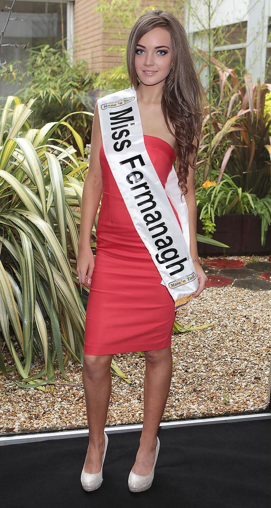 Miss Fermanagh- Roisin McDevitt: Roisin is 20 years of age and is a part time sales assistant and student with the University of Ulster. She wishes to pursue modelling.  She has just completed her first year studying Radiography. She enjoys keeping fit and goes walking and swimming regularily. She hopes in five yearrs time to be working as a radiographer...The Final Countdown for Miss Ireland 2014 has officially begun!!..This morning saw all 36 Finalists for the Miss Ireland 2014  in association with Mane n' Tail pageant come together in the Ballsbridge Hotel to kick off the Finale of the competition. Amongst this dazzling array of beautiful ladies awaits the one who will tomorrow evening be crowned Miss Ireland 2014...The lucky girl will be selected at the Gala Final in the Ballsbridge Hotel by the esteemed panel of judges, with highlights of the evening to include a casino for all guests in attendence and a performance by singer/ songwriter and former Ireland representative at the Eurovision, Ryan Dolan...Picture:Brian McEvoy.