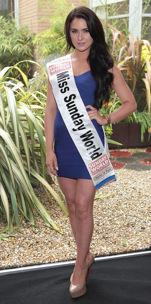 The Final Countdown for Miss Ireland 2014 has officially begun!!..Miss Sunday World- Laura Fox: 23 yr old Laura is from Galway and previously held the Miss Galway title in 2013. She works as a hostess and event planner with 'Monroes Live' in Galway and recently signed to Assets modelling agency following her year as Miss Galway.  She has 2 Brothers and 1 Sister. She completed a PR / Advertising course and would love to break into TV Presenting.  Her life ambition is to make the most of every minute of her life, having lost 2 friends recently which made her realize not to take things for granted. ..This morning saw all 36 Finalists for the Miss Ireland 2014  in association with Mane n' Tail pageant come together in the Ballsbridge Hotel to kick off the Finale of the competition. Amongst this dazzling array of beautiful ladies awaits the one who will tomorrow evening be crowned Miss Ireland 2014...The lucky girl will be selected at the Gala Final in the Ballsbridge Hotel by the esteemed panel of judges, with highlights of the evening to include a casino for all guests in attendence and a performance by singer/ songwriter and former Ireland representative at the Eurovision, Ryan Dolan...Picture:Brian McEvoy.