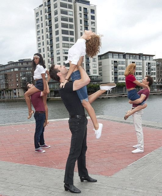 Opening Night of The Musical Dirty Dancing at The Bord Gais Energy Theatre