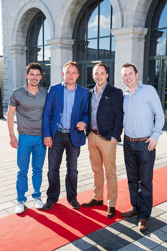 Picture shows from left Zak Rouiller; Nigel Brophy; Al Kirwan; Declan Walsh celebrating the renaming of the Private Members' Club at 3Arena, the 1878 (formerly Audi Club).The launch of the 1878 took place on Saturday June 21st when Fleetwood Mac took to the main stage at the 3Arena and played to a sold out audience.Pic:Naoise Culhane-no fee The new name, the 1878, refers to the year the original building housing 3Arena was built, previously used as a rail terminus for the Midland and Great Western Railway Company. Respect for history is important and the new name encompasses the timeless qualities of luxury, style and elegance that 3Arena Private Members' Clubs pride themselves on, the qualities Members expect from their Club experience. With a nod to the building's past as a point of departure and a reference to the journey through history it has made, the 1878 continues to provide the backdrop to journeys – now the musical and inspirational journeys created by the world-class acts, performers and musicians welcomed to 3Arena, which The 1878 members enjoy in uniquely luxurious fashion. Pic:Naoise Culhane-no fee