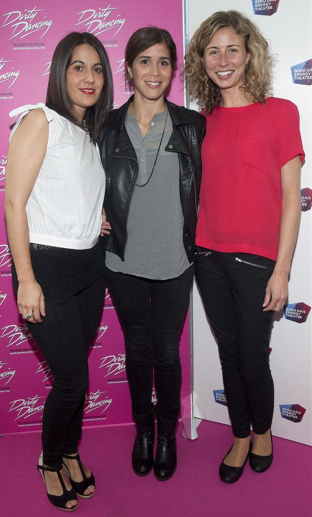 Amaia Pinacho, Marta Brochabo and Gloria De Molima  Pic:  Brian McEvoy Photography.