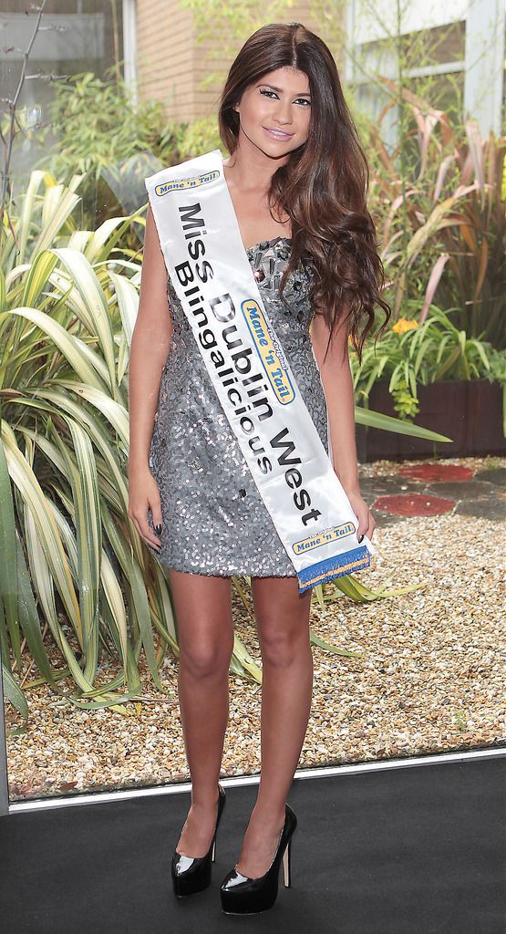 Miss Dublin West- Megan Roberts: 21 year old Megan is from Rialto and will be starting college in September. She enjoys playing tennis. She was in the majorettes, does gymnastics and plays the tin whistle. Her favourite person is her Nanny who sadly passed away. She wants to travel the world and be an independent, successful woman in a variety of different businesses. ..The Final Countdown for Miss Ireland 2014 has officially begun!!..This morning saw all 36 Finalists for the Miss Ireland 2014  in association with Mane n' Tail pageant come together in the Ballsbridge Hotel to kick off the Finale of the competition. Amongst this dazzling array of beautiful ladies awaits the one who will tomorrow evening be crowned Miss Ireland 2014...The lucky girl will be selected at the Gala Final in the Ballsbridge Hotel by the esteemed panel of judges, with highlights of the evening to include a casino for all guests in attendence and a performance by singer/ songwriter and former Ireland representative at the Eurovision, Ryan Dolan...Picture:Brian McEvoy.