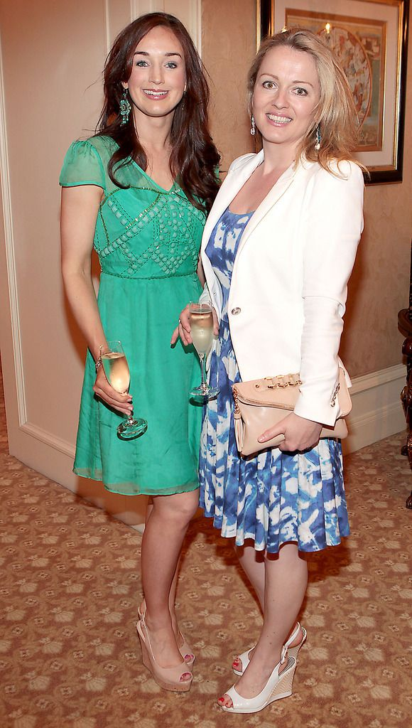Emer Lynch and Maria Anna O Dwyer  Pictures :Brian McEvoy.
