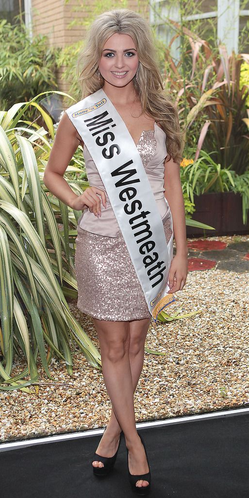 Miss Westmeath- Niamh Mc Mahon: 20 year old Niamh is a beauty therapist and she has 2 Brothers and 1 Sister. She enjoys Ladies GAA, swimming, running and dancing. She has taken part in many dance shows and enjoys being on stage. She lives every day as it comes as she believes life is too short for regrets...Pic : Brian McEvoy.