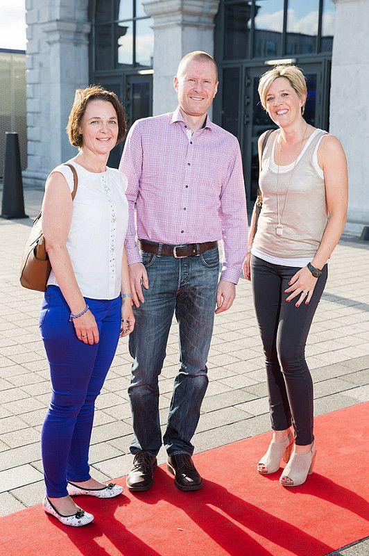Picture shows from left Kathryn D'arcy; Colin D'arcy;  Sharon Gaynor;   celebrating the renaming of the Private Members' Club at 3Arena, the 1878 (formerly Audi Club).The launch of the 1878 took place on Saturday June 21st when Fleetwood Mac took to the main stage at the 3Arena and played to a sold out audience.Pic:Naoise Culhane-no fee The new name, the 1878, refers to the year the original building housing 3Arena was built, previously used as a rail terminus for the Midland and Great Western Railway Company. Respect for history is important and the new name encompasses the timeless qualities of luxury, style and elegance that 3Arena Private Members' Clubs pride themselves on, the qualities Members expect from their Club experience. With a nod to the building's past as a point of departure and a reference to the journey through history it has made, the 1878 continues to provide the backdrop to journeys – now the musical and inspirational journeys created by the world-class acts, performers and musicians welcomed to 3Arena, which The 1878 members enjoy in uniquely luxurious fashion. Pic:Naoise Culhane-no fee