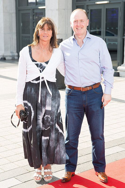 Picture shows from left Jan and andy Kelly;  celebrating the renaming of the Private Members' Club at 3Arena, the 1878 (formerly Audi Club).The launch of the 1878 took place on Saturday June 21st when Fleetwood Mac took to the main stage at the 3Arena and played to a sold out audience.Pic:Naoise Culhane-no fee The new name, the 1878, refers to the year the original building housing 3Arena was built, previously used as a rail terminus for the Midland and Great Western Railway Company. Respect for history is important and the new name encompasses the timeless qualities of luxury, style and elegance that 3Arena Private Members' Clubs pride themselves on, the qualities Members expect from their Club experience. With a nod to the building's past as a point of departure and a reference to the journey through history it has made, the 1878 continues to provide the backdrop to journeys – now the musical and inspirational journeys created by the world-class acts, performers and musicians welcomed to 3Arena, which The 1878 members enjoy in uniquely luxurious fashion. Pic:Naoise Culhane-no fee