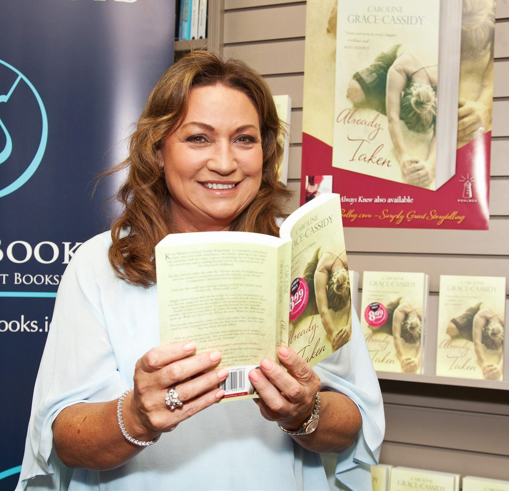 Paul Sherwood Photography © 2015 Launch of Caroline Grace Cassidy's book 'Already Taken' held in Dubray books, Grafton Street, Dublin. July 2015. Pictured - Norah Casey