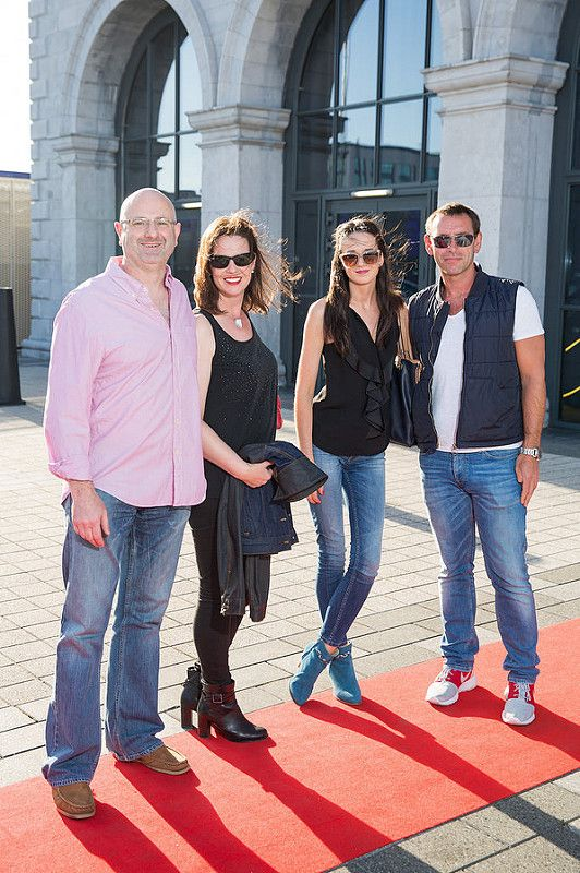 Picture shows from left Colin Ross; Sally Anne Irwin; Aisling Prendergast; Murt Lucey;   celebrating the renaming of the Private Members' Club at 3Arena, the 1878 (formerly Audi Club).The launch of the 1878 took place on Saturday June 21st when Fleetwood Mac took to the main stage at the 3Arena and played to a sold out audience.Pic:Naoise Culhane-no fee The new name, the 1878, refers to the year the original building housing 3Arena was built, previously used as a rail terminus for the Midland and Great Western Railway Company. Respect for history is important and the new name encompasses the timeless qualities of luxury, style and elegance that 3Arena Private Members' Clubs pride themselves on, the qualities Members expect from their Club experience. With a nod to the building's past as a point of departure and a reference to the journey through history it has made, the 1878 continues to provide the backdrop to journeys – now the musical and inspirational journeys created by the world-class acts, performers and musicians welcomed to 3Arena, which The 1878 members enjoy in uniquely luxurious fashion. Pic:Naoise Culhane-no fee