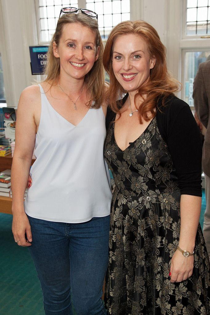 Paul Sherwood Photography © 2015 Launch of Caroline Grace Cassidy's book 'Already Taken' held in Dubray books, Grafton Street, Dublin. July 2015. Pictured - Sarah Flood, Clelia Murphy