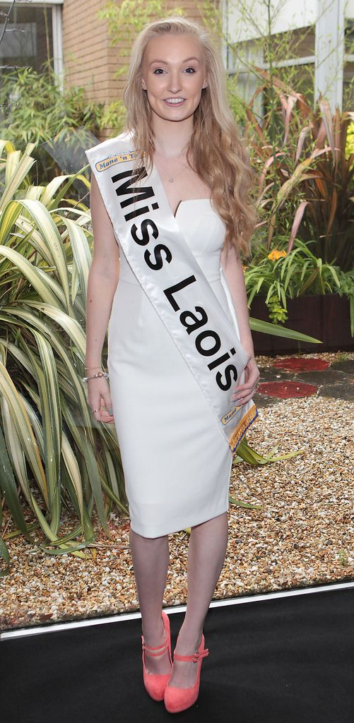 The Final Countdown for Miss Ireland 2014 has officially begun!!.Miss Laois- Lorraine Tubridy: 17 yr old Lorraine is a boxer and has trained with Katie Taylor and Bernard Dunne. She is an only Girl with 3 Brothers. She loves anything to do with sports and one day would love to win an All Ireland medal and follow this with opening her own beauty school. She is a nail technician and feels she is a chatty, outgoing person. ...This morning saw all 36 Finalists for the Miss Ireland 2014  in association with Mane n' Tail pageant come together in the Ballsbridge Hotel to kick off the Finale of the competition. Amongst this dazzling array of beautiful ladies awaits the one who will tomorrow evening be crowned Miss Ireland 2014...The lucky girl will be selected at the Gala Final in the Ballsbridge Hotel by the esteemed panel of judges, with highlights of the evening to include a casino for all guests in attendence and a performance by singer/ songwriter and former Ireland representative at the Eurovision, Ryan Dolan...Picture:Brian McEvoy.