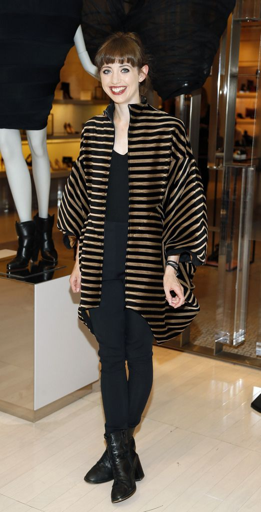 Sinead Kennedy at the launch of the 4th Irish Designers CREATE in Brown Thomas Dublin-photo Kieran Harnett