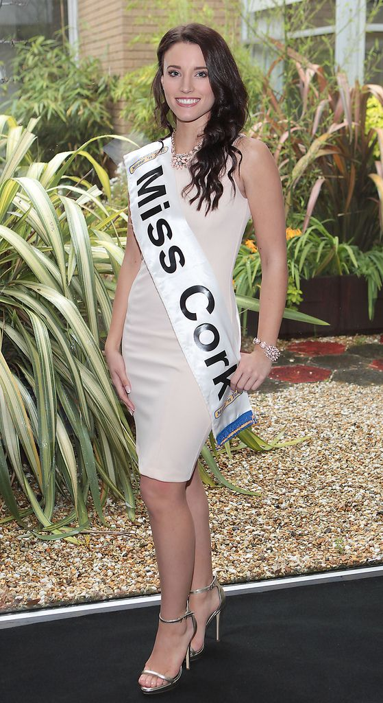 The Final Countdown for Miss Ireland 2014 has officially begun!!..Miss Cork- Katie O'Donoghue: 20 year old Katie is from Bishopstown, Co. Cork. She works in the family business in addition to part time work with Real Nation doing promotional work. She is currently a student at UCC doing a Bachelor of Arts Degree. She has 2 Sisters, and 1 Brother who lives in the UK. She is a goal setter, determined to achieve, and considers herself very focused. Her family are very close and she enjoys working out to relax or walking the Dog. Her hero is Nelson Mandela. She is studying French and she was the runner up of Miss Cork in 2013...This morning saw all 36 Finalists for the Miss Ireland 2014  in association with Mane n' Tail pageant come together in the Ballsbridge Hotel to kick off the Finale of the competition. Amongst this dazzling array of beautiful ladies awaits the one who will tomorrow evening be crowned Miss Ireland 2014...The lucky girl will be selected at the Gala Final in the Ballsbridge Hotel by the esteemed panel of judges, with highlights of the evening to include a casino for all guests in attendence and a performance by singer/ songwriter and former Ireland representative at the Eurovision, Ryan Dolan...Picture:Brian McEvoy.