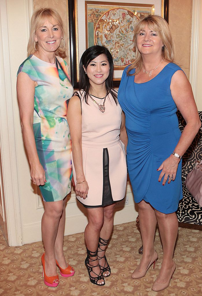 Kay Hutton, Jeanette Sung and Susan  McLafferty  .Pictures :Brian McEvoy.