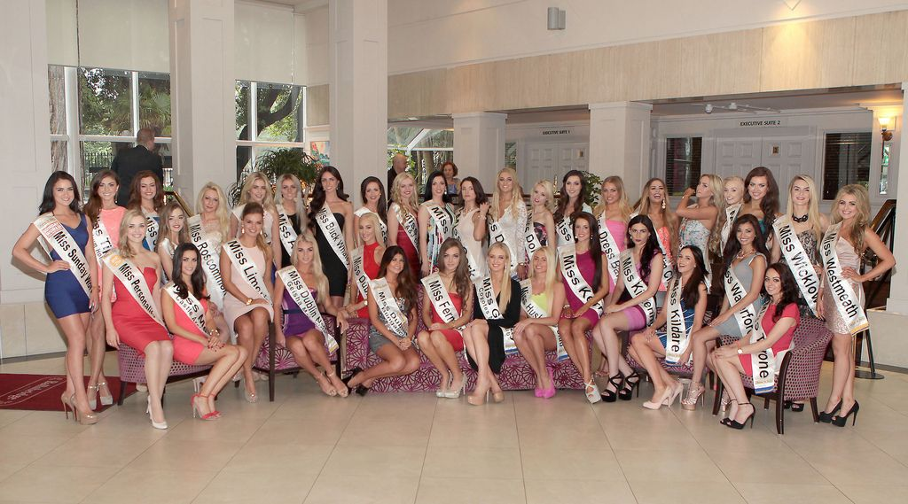 The Final Countdown for Miss Ireland 2014 has officially begun!!..This morning saw all 36 Finalists for the Miss Ireland 2014  in association with Mane n' Tail pageant come together in the Ballsbridge Hotel to kick off the Finale of the competition. Amongst this dazzling array of beautiful ladies awaits the one who will tomorrow evening be crowned Miss Ireland 2014...The lucky girl will be selected at the Gala Final in the Ballsbridge Hotel by the esteemed panel of judges, with highlights of the evening to include a casino for all guests in attendence and a performance by singer/ songwriter and former Ireland representative at the Eurovision, Ryan Dolan...Picture:Brian McEvoy.