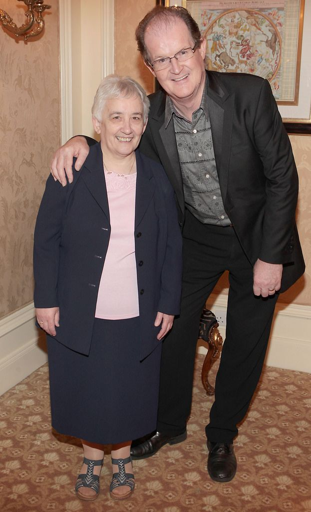 Sister Zoe Killeen and Aonghus McAnally  .Pictures :Brian McEvoy