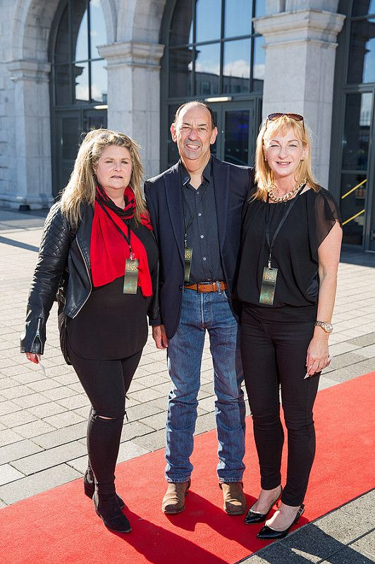 Picture shows from left Gillian Freeney; Mick Hanley; Laura Fitzsimons celebrating the renaming of the Private Members' Club at 3Arena, the 1878 (formerly Audi Club).The launch of the 1878 took place on Saturday June 21st when Fleetwood Mac took to the main stage at the 3Arena and played to a sold out audience.Pic:Naoise Culhane-no fee The new name, the 1878, refers to the year the original building housing 3Arena was built, previously used as a rail terminus for the Midland and Great Western Railway Company. Respect for history is important and the new name encompasses the timeless qualities of luxury, style and elegance that 3Arena Private Members' Clubs pride themselves on, the qualities Members expect from their Club experience. With a nod to the building's past as a point of departure and a reference to the journey through history it has made, the 1878 continues to provide the backdrop to journeys – now the musical and inspirational journeys created by the world-class acts, performers and musicians welcomed to 3Arena, which The 1878 members enjoy in uniquely luxurious fashion. Pic:Naoise Culhane-no fee