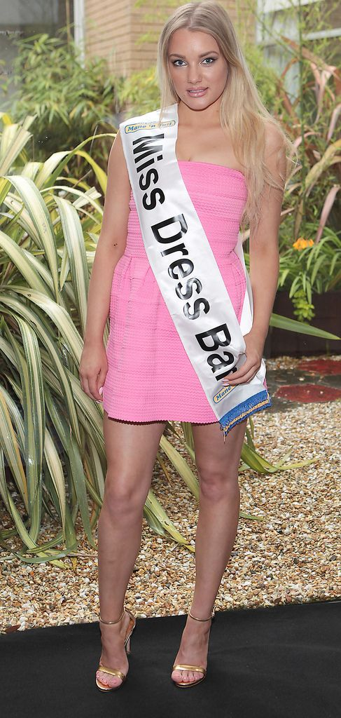 The Final Countdown for Miss Ireland 2014 has officially begun!!..Miss Dress Bar- Rebecca O'Donovan: 19 year old Rebecca is from Cork and is currently working as a florist. She studied Art in UCC but took a year out. Her hobbies are drawing, singing and playing the guitar. She lives with her Mother who she picks as the greatest person in her World. She has 2 Brothers. She would love to travel to China and America to see how others celebrate Christmas...This morning saw all 36 Finalists for the Miss Ireland 2014  in association with Mane n' Tail pageant come together in the Ballsbridge Hotel to kick off the Finale of the competition. Amongst this dazzling array of beautiful ladies awaits the one who will tomorrow evening be crowned Miss Ireland 2014...The lucky girl will be selected at the Gala Final in the Ballsbridge Hotel by the esteemed panel of judges, with highlights of the evening to include a casino for all guests in attendence and a performance by singer/ songwriter and former Ireland representative at the Eurovision, Ryan Dolan...Picture:Brian McEvoy.