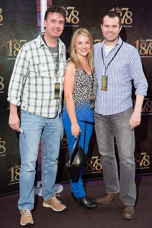 Picture shows from left Andrew Montgomery; Rebecca and Graham Tucker;   celebrating the renaming of the Private Members' Club at 3Arena, the 1878 (formerly Audi Club).The launch of the 1878 took place on Saturday June 21st when Fleetwood Mac took to the main stage at the 3Arena and played to a sold out audience.Pic:Naoise Culhane-no fee The new name, the 1878, refers to the year the original building housing 3Arena was built, previously used as a rail terminus for the Midland and Great Western Railway Company. Respect for history is important and the new name encompasses the timeless qualities of luxury, style and elegance that 3Arena Private Members' Clubs pride themselves on, the qualities Members expect from their Club experience. With a nod to the building's past as a point of departure and a reference to the journey through history it has made, the 1878 continues to provide the backdrop to journeys – now the musical and inspirational journeys created by the world-class acts, performers and musicians welcomed to 3Arena, which The 1878 members enjoy in uniquely luxurious fashion. Pic:Naoise Culhane-no fee