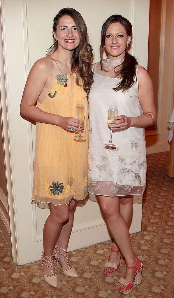 Shelly Brown and Roisin Field  Pictures :Brian McEvoy