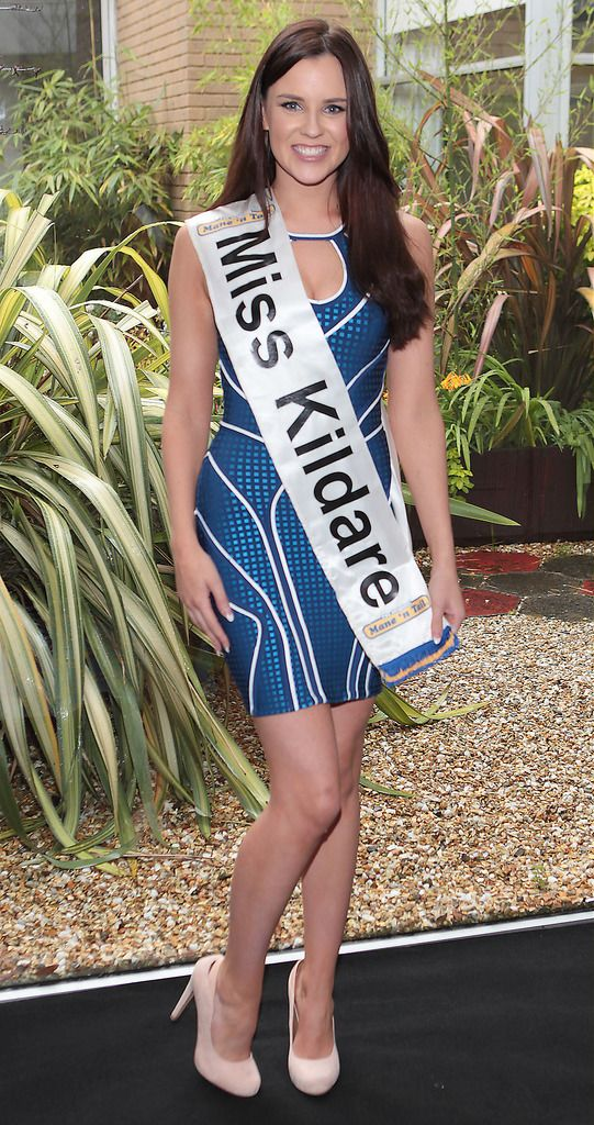 The Final Countdown for Miss Ireland 2014 has officially begun!!..Miss Kildare- Sara Kavanagh: 21 year old Sarah is a trainee hairdresser with Peter Mark but studied fashion buying and merchandising in Crumlin College. She has 2 Brothers, enjoys jogging and socialising with friends. She admired Princess Diana and has found being involved in Miss Ireland as  extremely confidence building. ..This morning saw all 36 Finalists for the Miss Ireland 2014  in association with Mane n' Tail pageant come together in the Ballsbridge Hotel to kick off the Finale of the competition. Amongst this dazzling array of beautiful ladies awaits the one who will tomorrow evening be crowned Miss Ireland 2014...The lucky girl will be selected at the Gala Final in the Ballsbridge Hotel by the esteemed panel of judges, with highlights of the evening to include a casino for all guests in attendence and a performance by singer/ songwriter and former Ireland representative at the Eurovision, Ryan Dolan...Picture:Brian McEvoy.