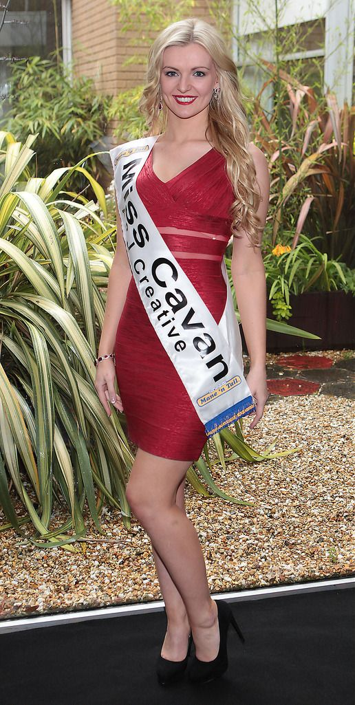 Miss Cavan- Naoimi Graham: Naomi was born in England but moved to Ireland when she was four years old. She is 21 years of age and self employed. She has 1 Sister and 5 foster Brothers. Her ambition is to have a successful Business and design her own eveningwear range. She enjoys horse riding and can sing.  She would see her mother as the greatest person in the World...The Final Countdown for Miss Ireland 2014 has officially begun!!..This morning saw all 36 Finalists for the Miss Ireland 2014  in association with Mane n' Tail pageant come together in the Ballsbridge Hotel to kick off the Finale of the competition. Amongst this dazzling array of beautiful ladies awaits the one who will tomorrow evening be crowned Miss Ireland 2014...The lucky girl will be selected at the Gala Final in the Ballsbridge Hotel by the esteemed panel of judges, with highlights of the evening to include a casino for all guests in attendence and a performance by singer/ songwriter and former Ireland representative at the Eurovision, Ryan Dolan...Picture:Brian McEvoy.