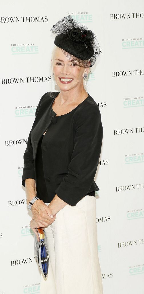 Tona O'Brien at the launch of the 4th Irish Designers CREATE in Brown Thomas Dublin-photo Kieran Harnett