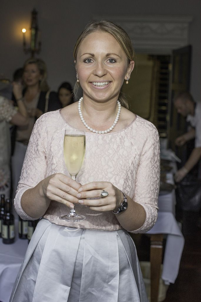 Sara Dolan pictured at the launch of the Cliff Town House Oyster Festival on Stephen's Green D2. Photo: Anthony Woods.