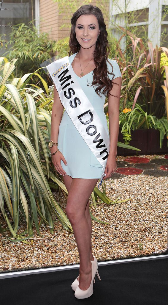The Final Countdown for Miss Ireland 2014 has officially begun!!..Miss Down- Charlotte Shaw: 20 year old Charlotte is studying speech and language therapy at University of Ulster while working part time in Topshop. She has appeared on Games of Thrones and has been in a relationship for 3 years. She enjoys tennis and cross country running. Her life ambition is to help those with communication difficulties and to one day become a wife and mother. She loves animals and dreams of running a dog sanctuary....This morning saw all 36 Finalists for the Miss Ireland 2014  in association with Mane n' Tail pageant come together in the Ballsbridge Hotel to kick off the Finale of the competition. Amongst this dazzling array of beautiful ladies awaits the one who will tomorrow evening be crowned Miss Ireland 2014...The lucky girl will be selected at the Gala Final in the Ballsbridge Hotel by the esteemed panel of judges, with highlights of the evening to include a casino for all guests in attendence and a performance by singer/ songwriter and former Ireland representative at the Eurovision, Ryan Dolan...Picture:Brian McEvoy.