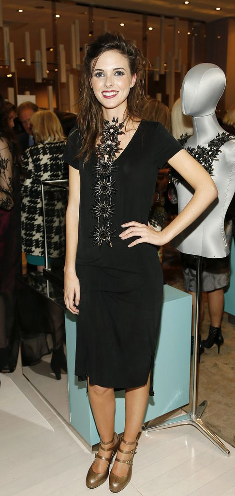 Blaithin Ennis at the launch of the 4th Irish Designers CREATE in Brown Thomas Dublin-photo Kieran Harnett