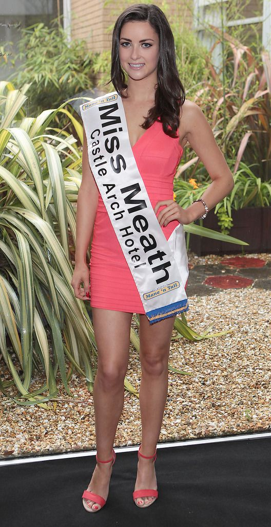 The Final Countdown for Miss Ireland 2014 has officially begun!!..Miss Meath- Aoife Mc Grane: 20 year old Aoife is from Ashbourne, Co Meath and is an only Girl with 2 Brothers. She is currently in DCU and is working part time as a waitress.  Her family are big into music- both her father and her brother are in bands. Her talents are Irish Dancing, Hip Hop dancing, playing the guitar and playing the Ukulele. She studied fashion design for a year but has chosen to go down a more scientific route for her future studies. ..This morning saw all 36 Finalists for the Miss Ireland 2014  in association with Mane n' Tail pageant come together in the Ballsbridge Hotel to kick off the Finale of the competition. Amongst this dazzling array of beautiful ladies awaits the one who will tomorrow evening be crowned Miss Ireland 2014...The lucky girl will be selected at the Gala Final in the Ballsbridge Hotel by the esteemed panel of judges, with highlights of the evening to include a casino for all guests in attendence and a performance by singer/ songwriter and former Ireland representative at the Eurovision, Ryan Dolan...Picture:Brian McEvoy.