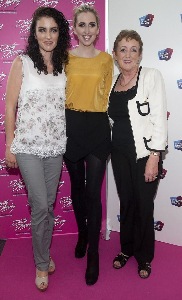 Elaine Smith, Emer Smith and Sheila Smith  Pic:  Brian McEvoy Photography.