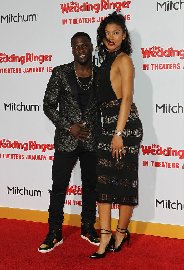 Featuring: Kevin Hart, Eniko Parrish  FayesVision/WENN.com