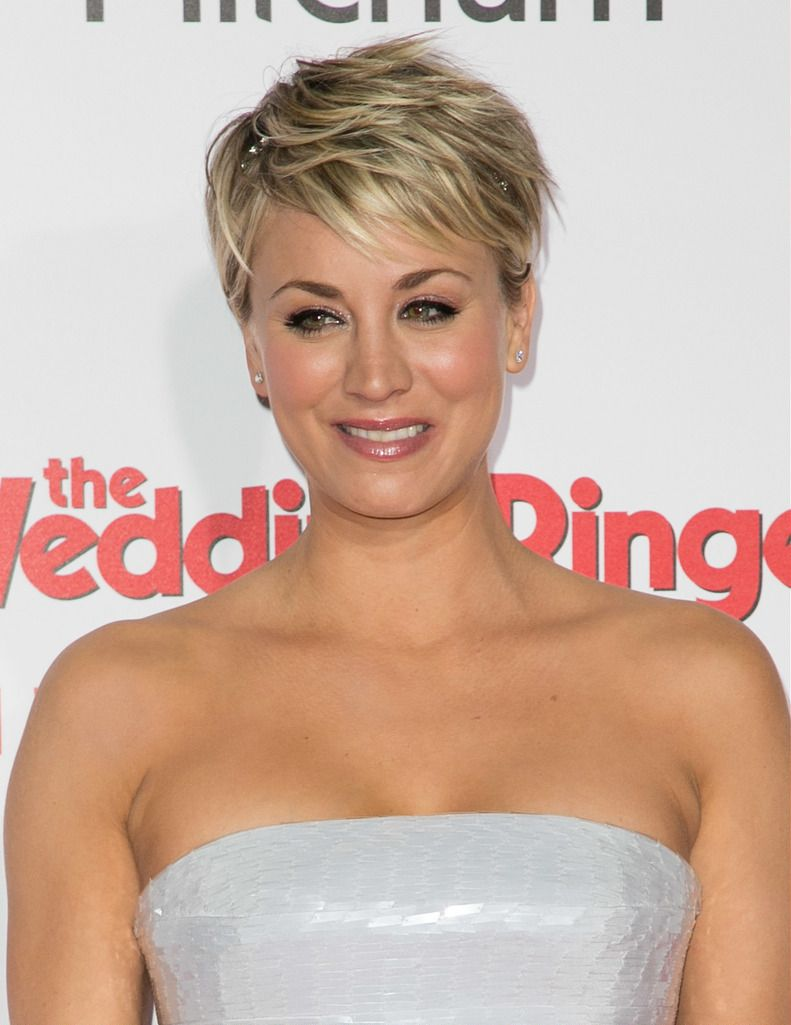 Featuring: Kaley Cuoco-Sweeting  Brian To/WENN.com